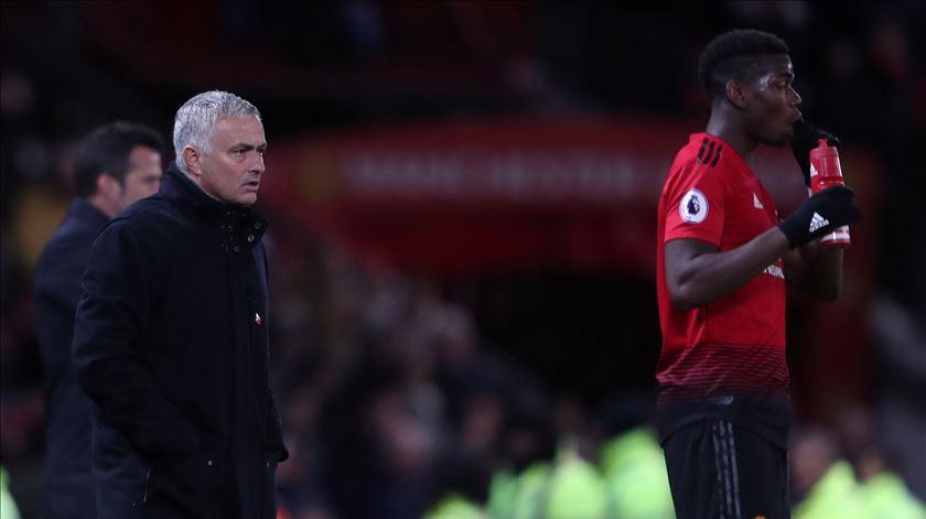 As últimas palavras de Mourinho como treinador do Manchester United