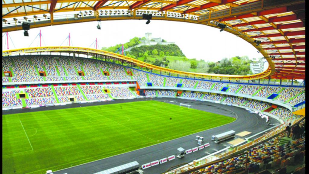 Estádio Dr. Magalhães Pessoa em Leiria recebe final da Taça Revelação Foto: DR