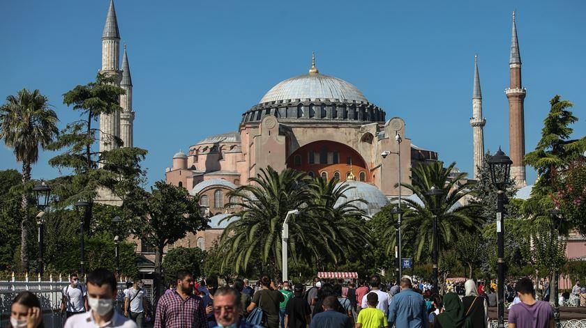 Europa Nostra lamenta transformação de Hagia Sophia em mesquita