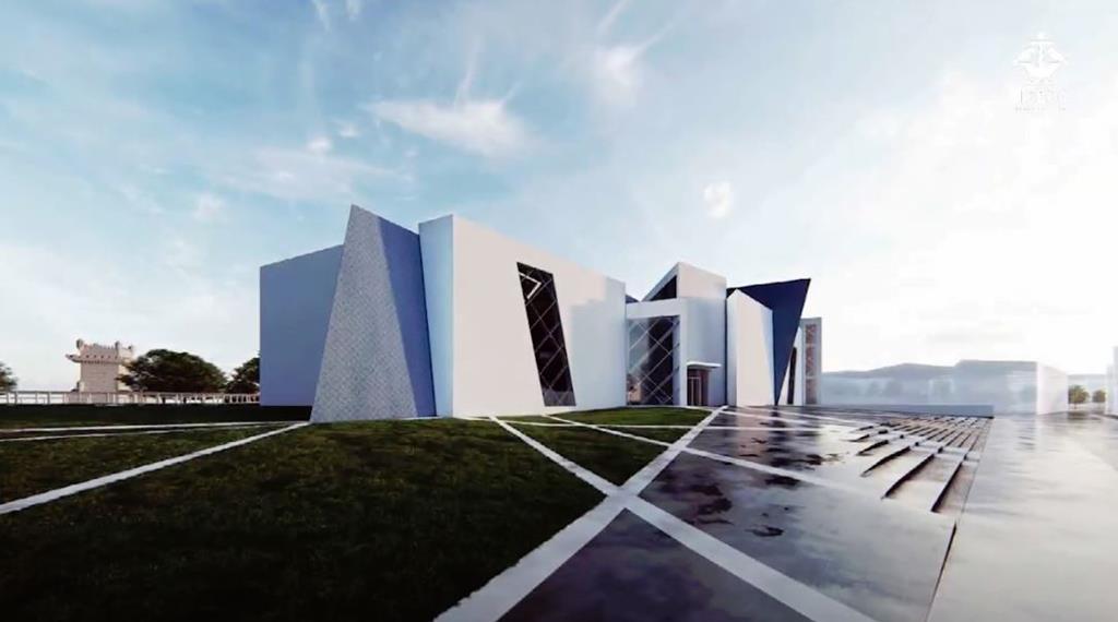 Museu é da autoria do arquiteto Daniel Libeskind. Ilustração: DR