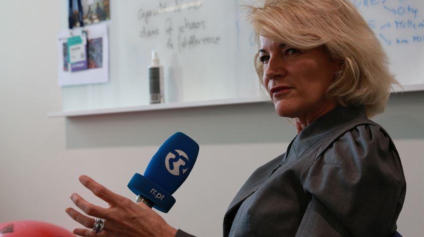 Nathalie Rischer, diretora-geral da Natixis em Portugal Foto: Marília Freitas/RR