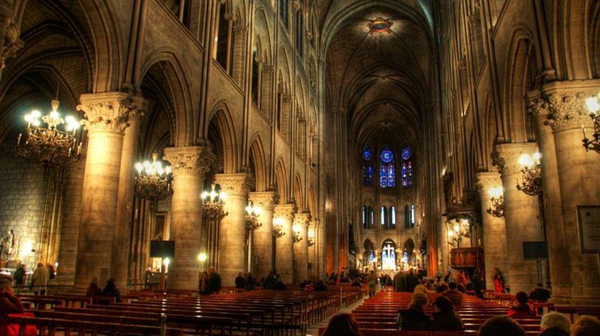 O interior da famosa catedral. Foto: DR.