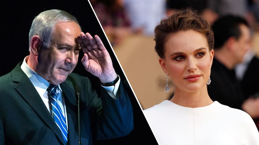 """Natalie Portman critica """"abusos"""" de Netanyahu e já há quem queira retirar-lhe a cidadania israelita"""