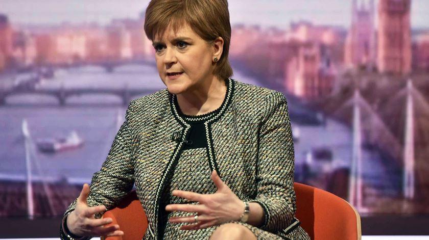 Se Reino Unido sair da UE sem acordo, Escócia avança com novo referendo à independência