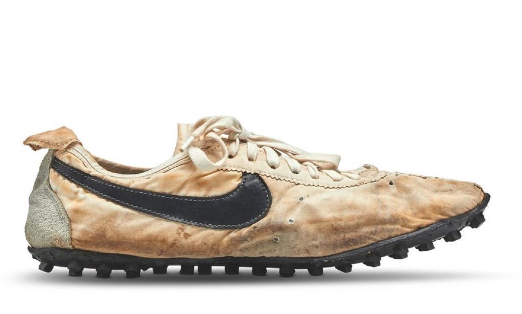Quanto custaram os seus sapatos? Este par de Nike custou