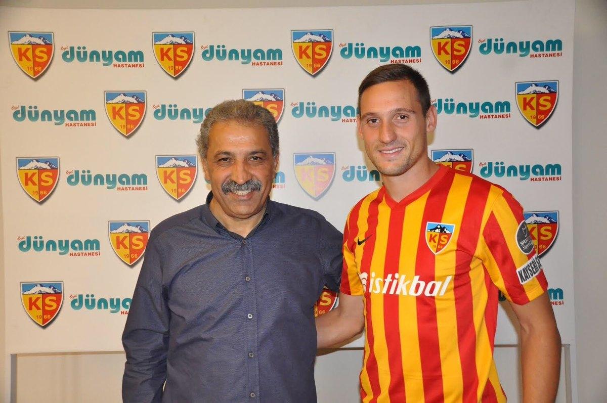 Sporting de Braga empresta Stojiljkovic ao Kayserispor