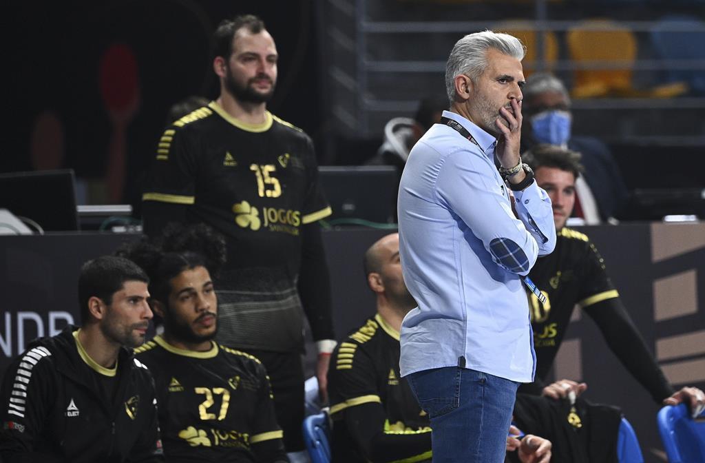 Paulo Jorge Pereira era o treinador de Quintana na seleção. Foto: Anne-Christine Poujoulat/EPA