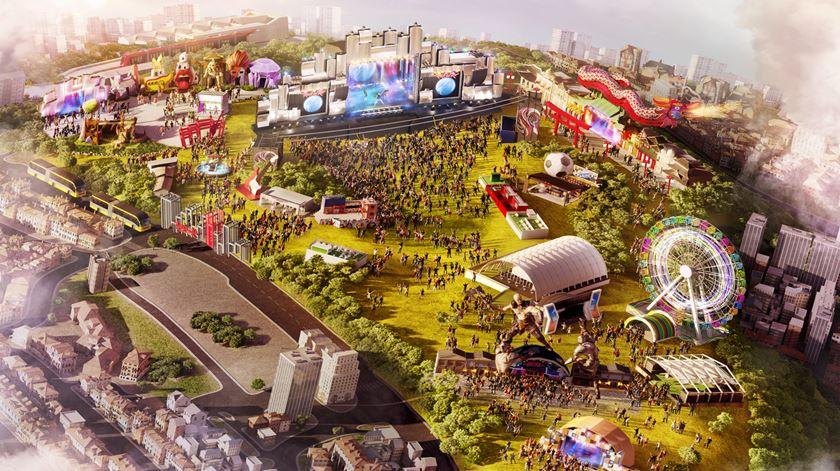 Conheça a nova Cidade do Rock, a estrear em 2020