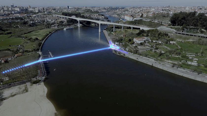 Porto e Vila Nova de Gaia anunciam nova ponte sobre o Douro