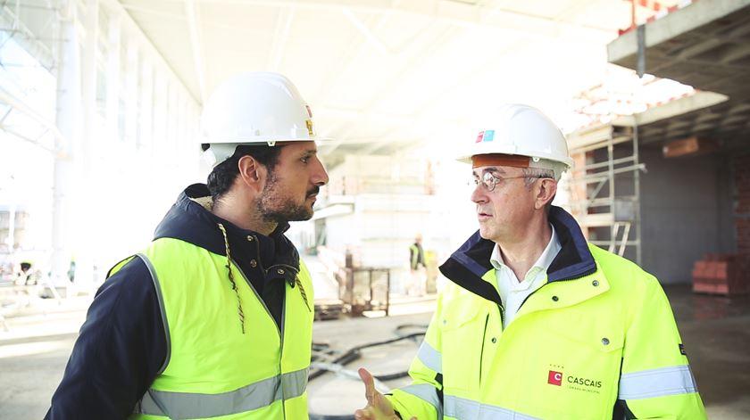 Novo campus da Universidade Nova SBE está a nascer em Carcavelos com apoio do Plano de Investimento para a Europa
