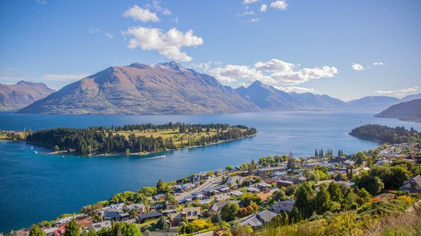 Menos de 5% da população da Nova Zelândia é humana