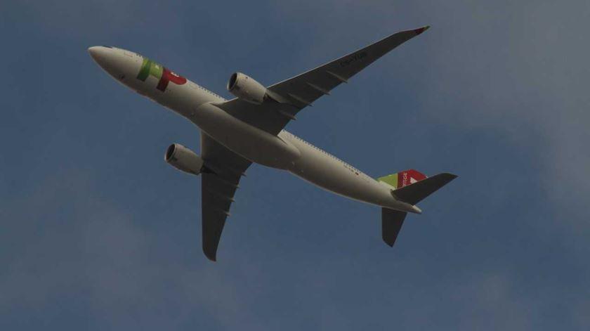 Avião da TAP regressou a Lisboa devido a problemas técnicos