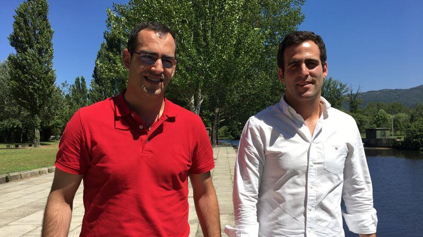 André Meireles e Cristofe Gomes, ordenados em Julho de 2017 na diocese de Vila Real. Foto: Olímpia Mairos/RR