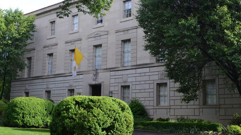 Nunciatura Apostólica em Washington, EUA. Foto: DR