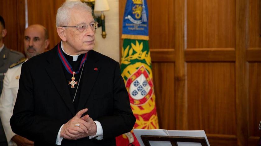 Núncio apostólico, arcebispo Rino Passigato, condecorado pelas Forças Armadas. Foto: Ana Rodrigues/RR