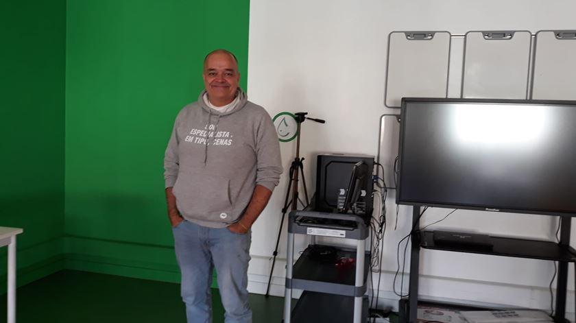 Nuno Mantas, diretor agrupamento de escolas da Boa Água. Foto: RR