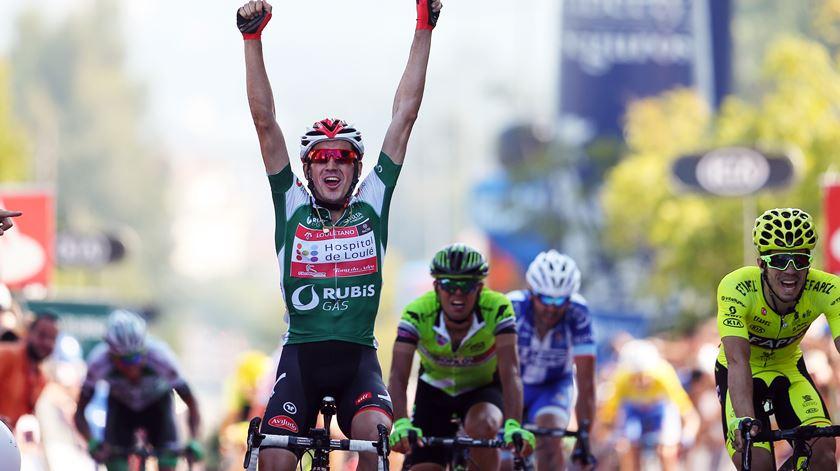 No ano passado, de Mateos venceu em Oliveira de Azeméis. Foto: Nuno Veiga/Lusa