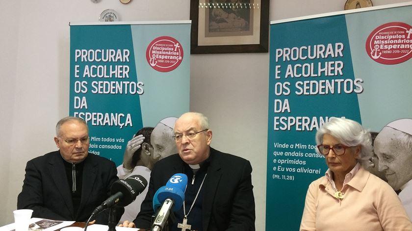 O arcebispo de Évora, D. Francisco Senra Coelho, pede tratamento específico para o Alentejo. Foto: Rosario Silva/RR