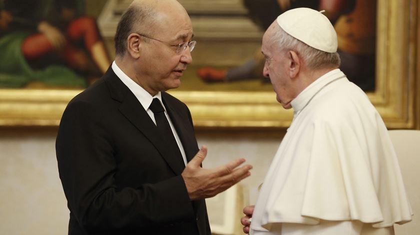 Papa expressa ao Presidente do Iraque a sua preocupação pelos cristãos