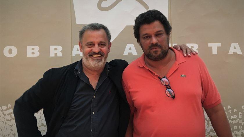 Dramaturgo Joaquim Paulo Nogueira e escritor Miguel Martins são os convidados