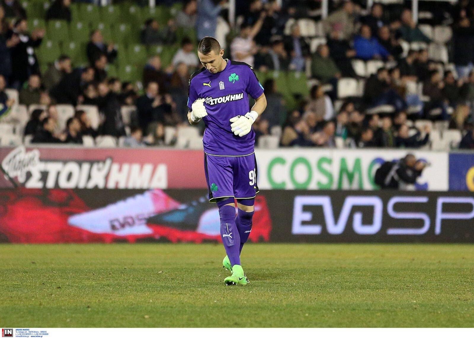Acordo com o Panathinaikos por Vlachodimos — Benfica