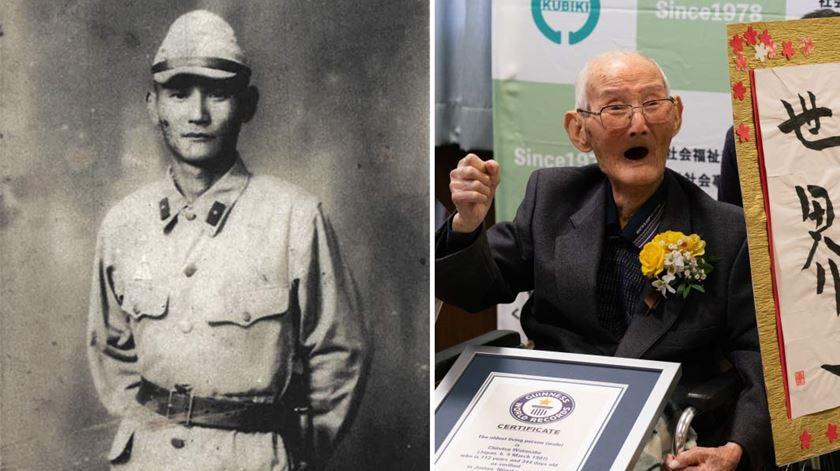 Morreu o homem mais velho do mundo. Tinha 112 anos