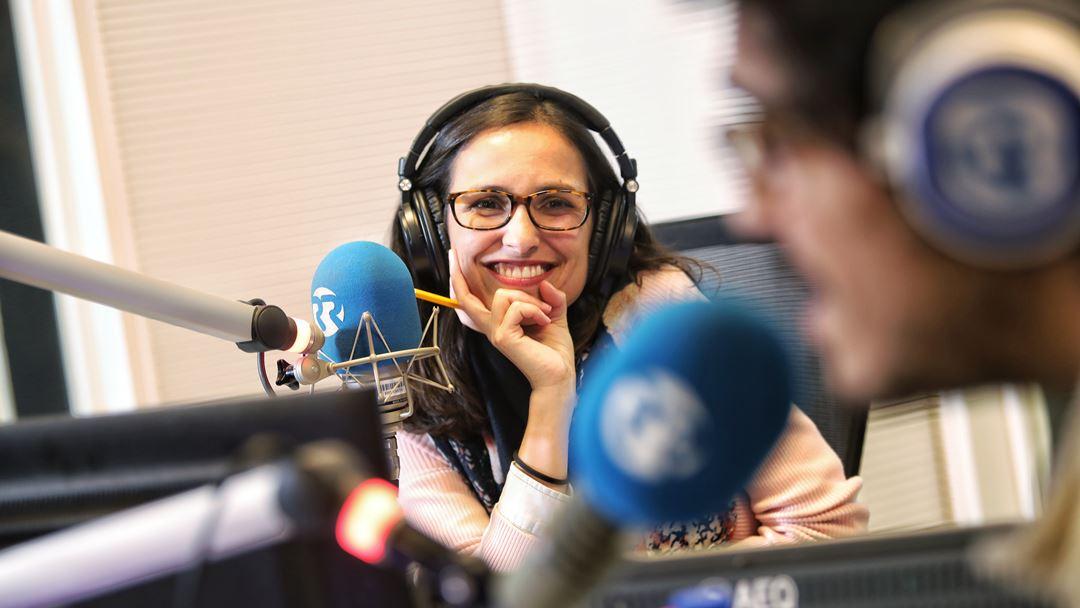 A Miriam Gonçalves adorou o concerto! Foto: Joana Bourgard/RR