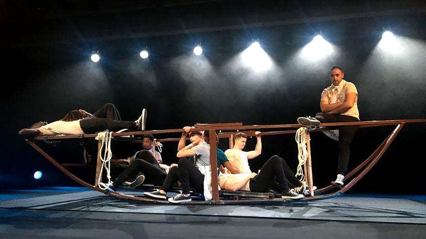 Gulbenkian. A liberdade do palco para 12 jovens reclusos