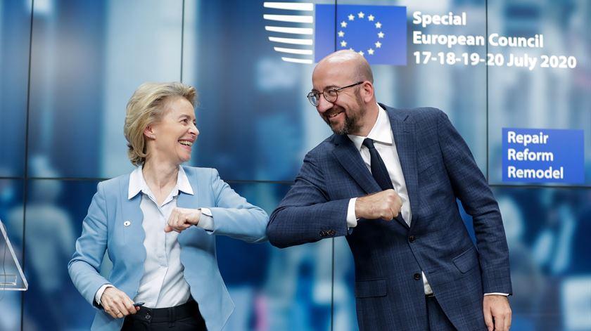 """45 mil milhões para Portugal. O filme da """"maratona de negociações"""" em Bruxelas"""