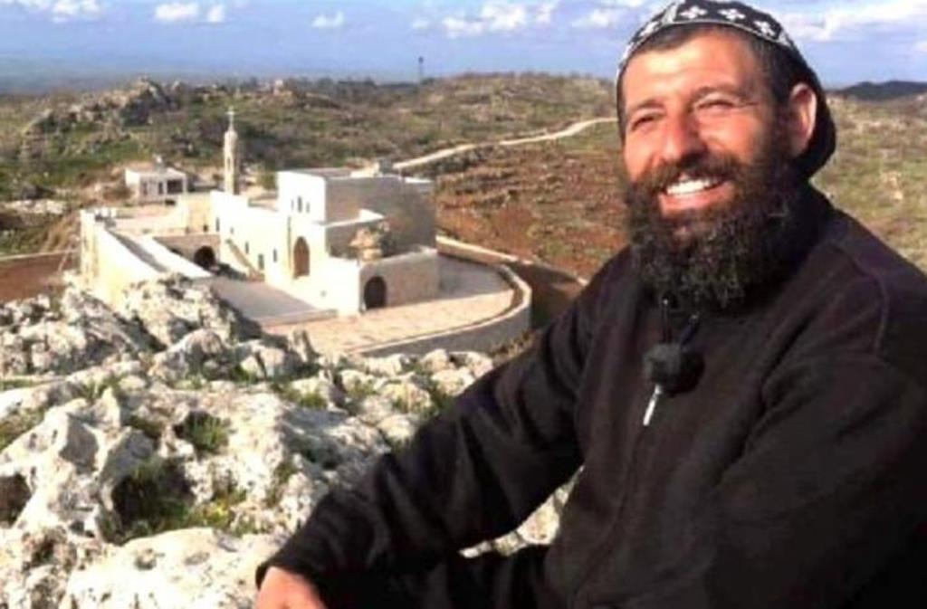 Padre Aho, monge siríaco detido na Turquia por apoio ao PKK. Foto: AsiaNews