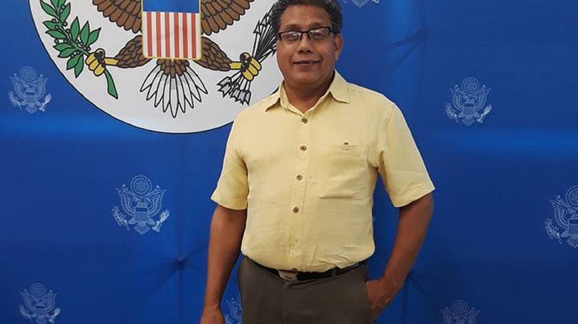 Padre Aarón Méndez Ruiz, raptado no México. Foto: Facebook Casa Del Migrante AMAR