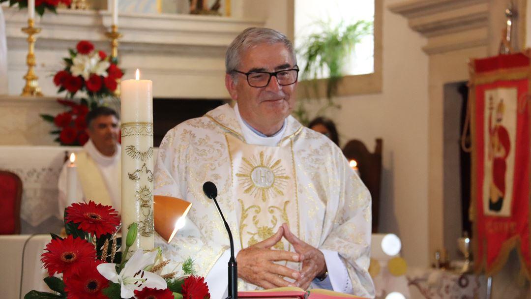 Padre António Martins Pereira é presidente do Fátima. Foto: Município de Santarém/Facebook