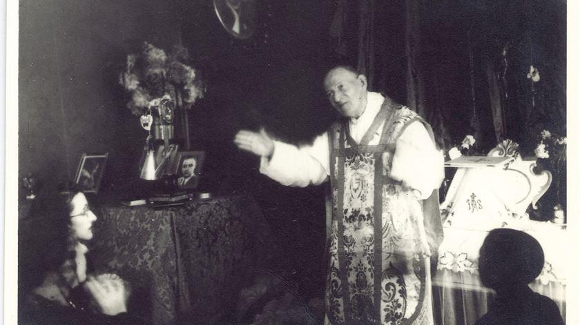 Padre Cruz em Braga, 1933. Foto: Companhia de Jesus