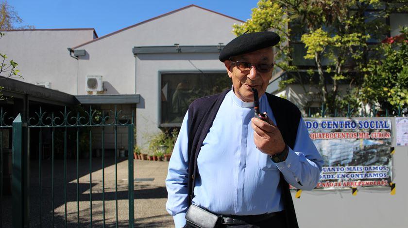 Padre Morujão já organizou perto de 40 cursos. Foto: Liliana Carona/RR