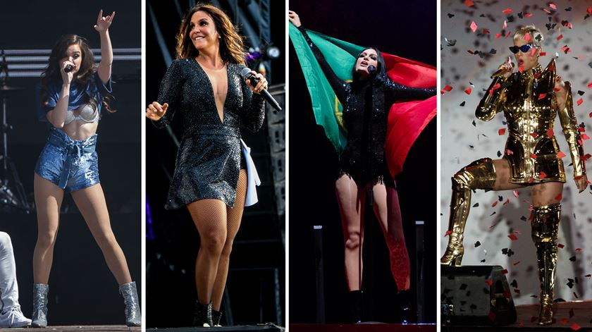 Hailee Steinfeld, Ivete, Jessie J, Katy Perry. Noite feminina no adeus à cidade do Rock