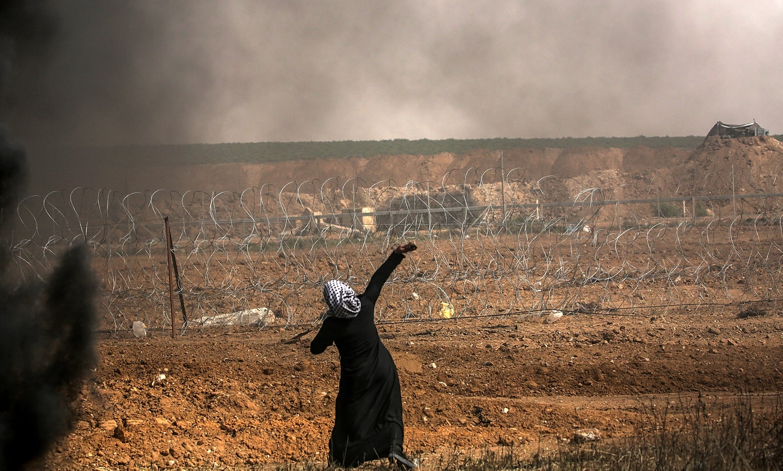 Quatro palestinos morrem em protesto na faixa de Gaza