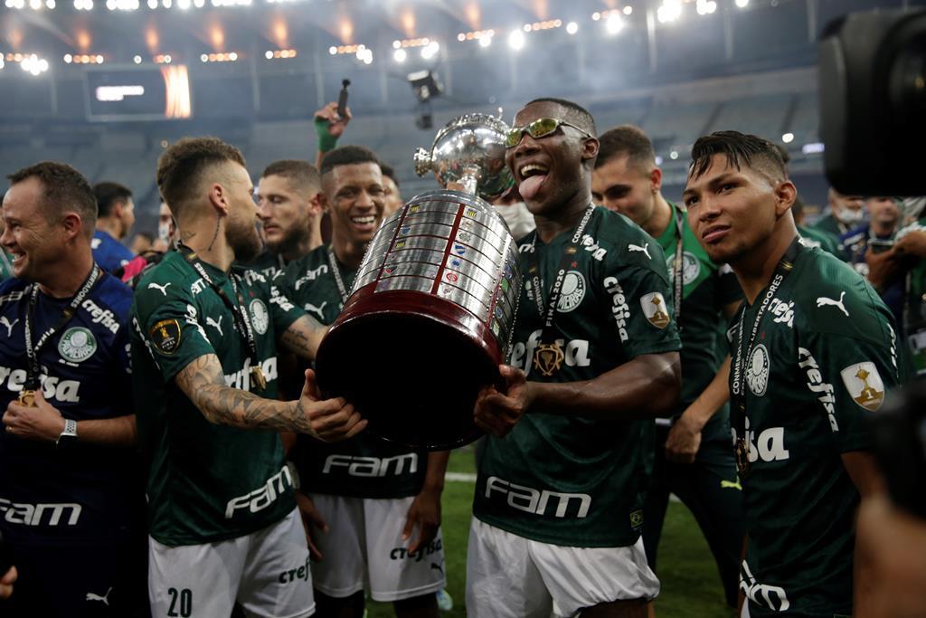 Palmeiras conquista Libertadores. Foto: Ricardo Moraes/EPA