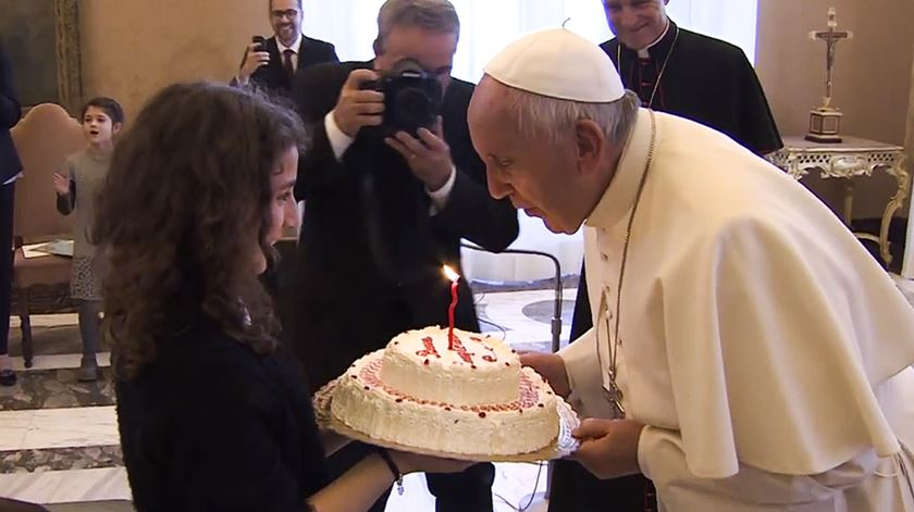 Papa Francisco celebra 83 anos