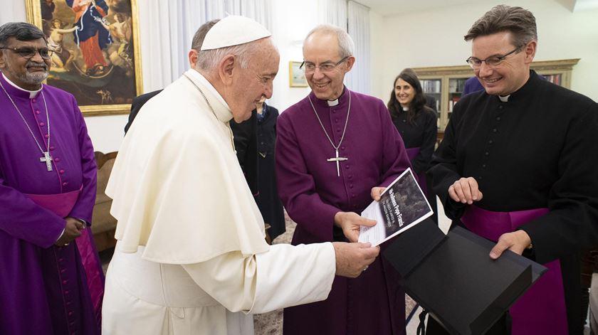 Papa quer visitar Sudão do Sul com arcebispo da Cantuária