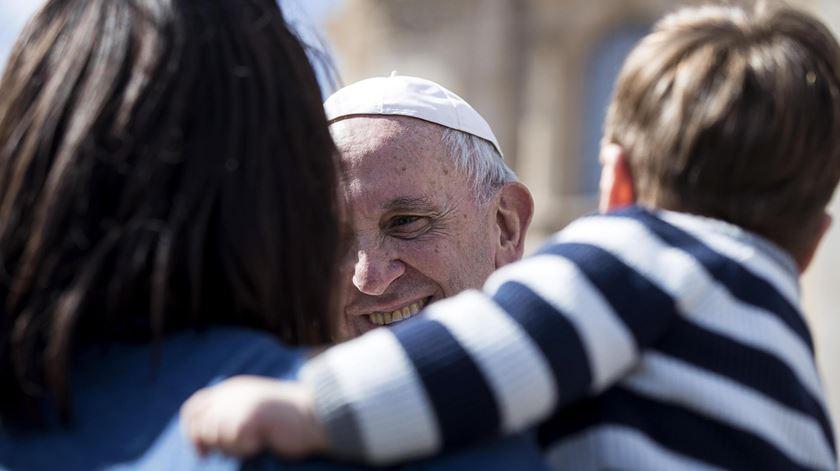 """Papa Francisco. """"Há gente que diz"""