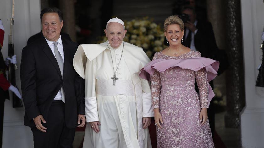 """Papa no Panamá. """"O direito ao futuro também é um direito humano"""""""