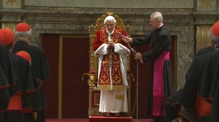 """Papa despede-se dos cardeais: """"Que sejam como uma orquestra em harmonia"""""""