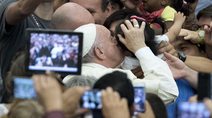 """Papa. """"O sacerdote não diz"""