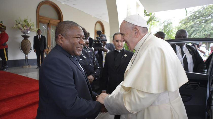 """Papa elogia moçambicanos. """"Não deixastes que o ódio tivesse a última palavra"""""""