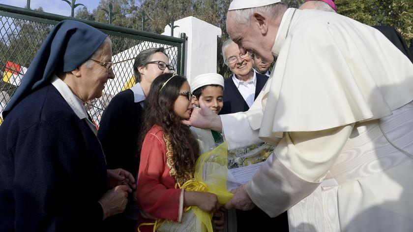 """Marrocos. Papa encoraja cristãos a fazer crescer a """"cultura da misericórdia"""""""