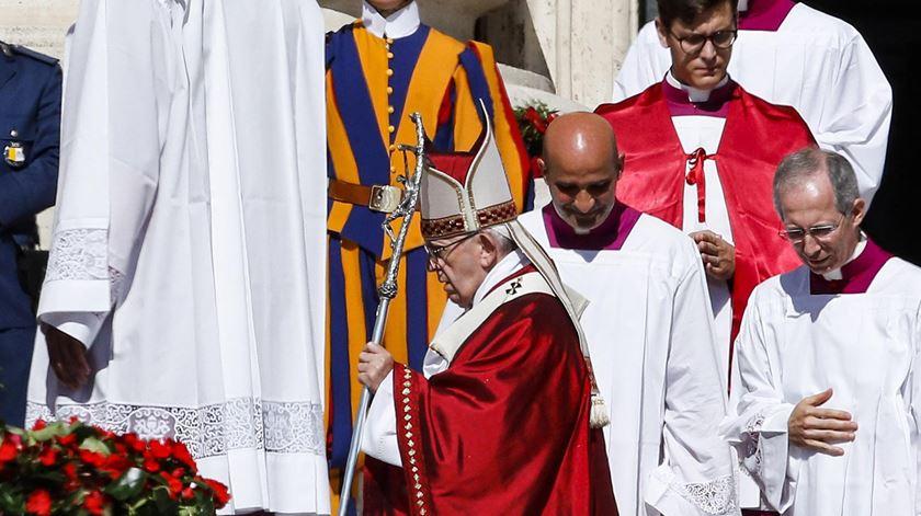Papa celebrou missa com os novos cardeais