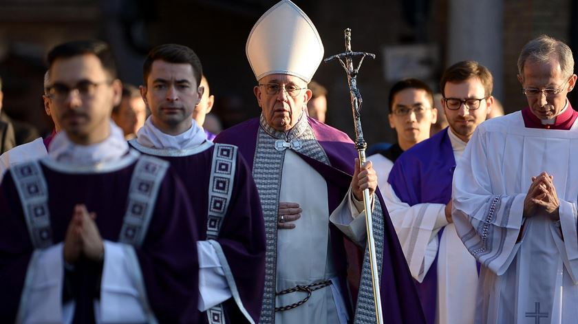 A receita do Papa para aquecer os corações nesta Quaresma