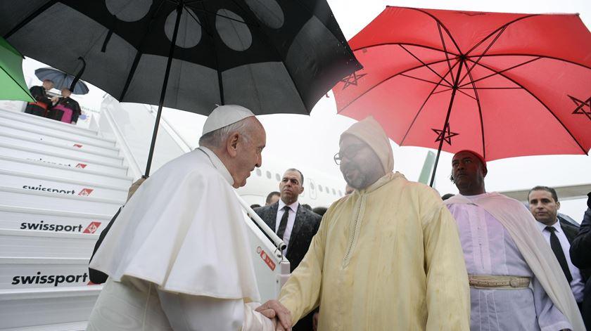 """Papa apela à """"solidariedade de todos os crentes"""" para combater fanatismo religioso"""