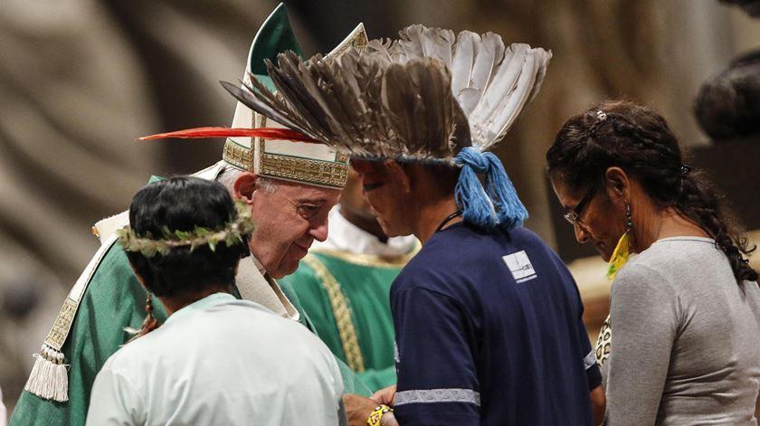 "Sínodo da Amazónia. Papa pede que se evitem ""colonialismos"" do passado"