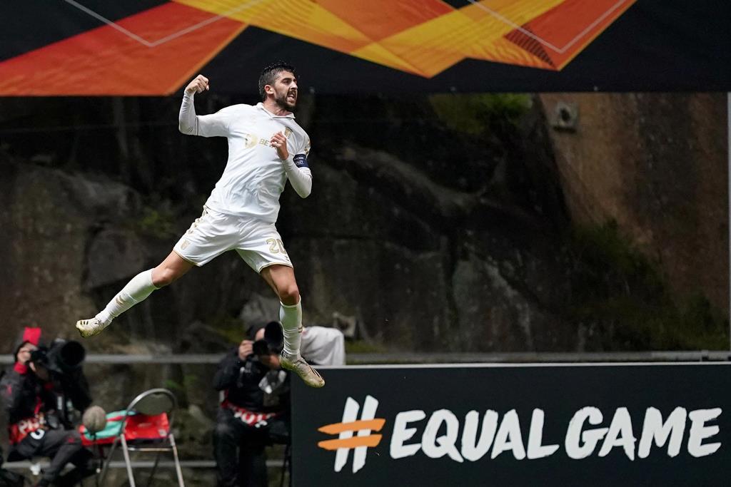 Paulinho tem 10 golos marcados pelo Braga esta época Foto: Hugo Delgado/Lusa